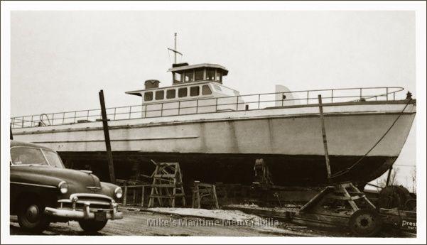 Yankee skipper sheepshead bay brooklyn ny 1953 for Brooklyn fishing boat