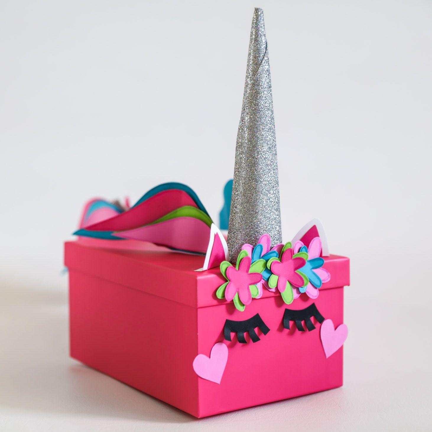 Valentines Box Ideas - Step-by-Step Unicorn, Robot & More!   Lil' Luna