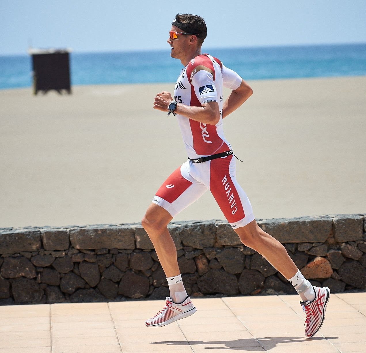955bcaf3a10 Jan Frodeno stamped his ticket to Kona with a second place finish at  Ironman Lanzarote on Sunday. The current Ironman World Champion led out of  the swim