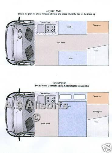 Camper Conversion Campervan Ford Transit Self Build Ebay Ford Transit Camper Camper Van Conversion Diy Transit Camper