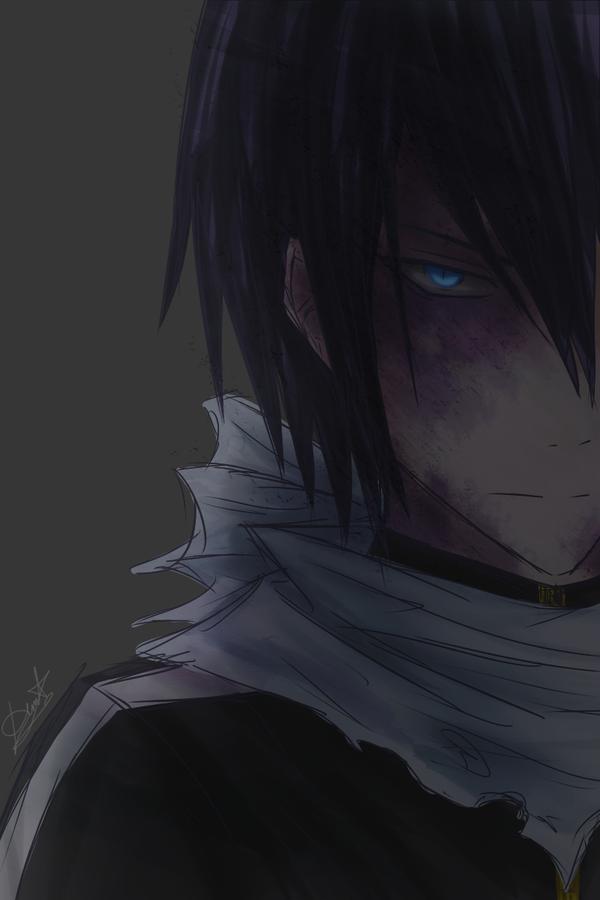 Oh look, creepy dude in shadow... _ Yato... How many