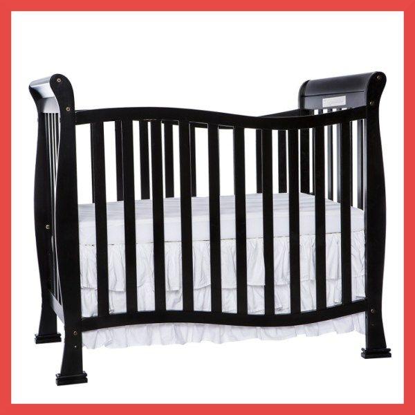 Dream Me Violet 4 in 1 Convertible Mini Crib