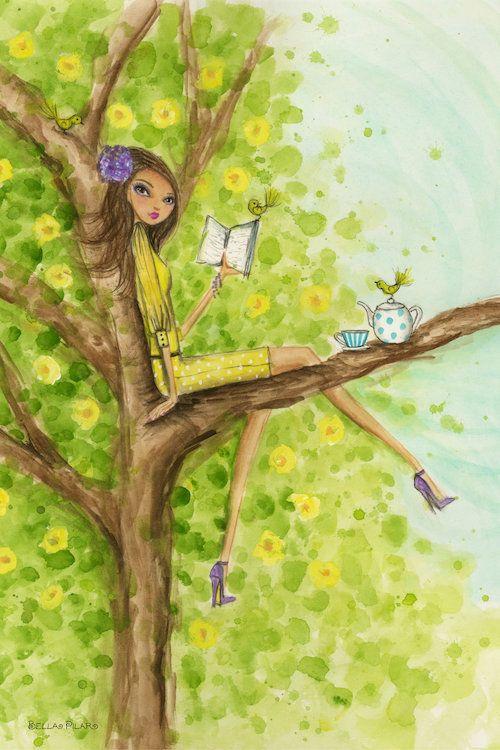Springtime at Summerside #3 Canvas Art by Bella Pilar — iCanvas