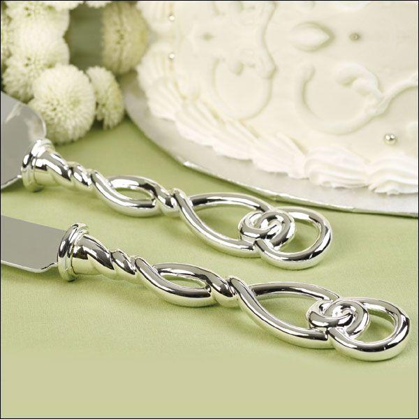 Love Knot Wedding Cake Serving Set | secret | Pinterest | Cake knife ...
