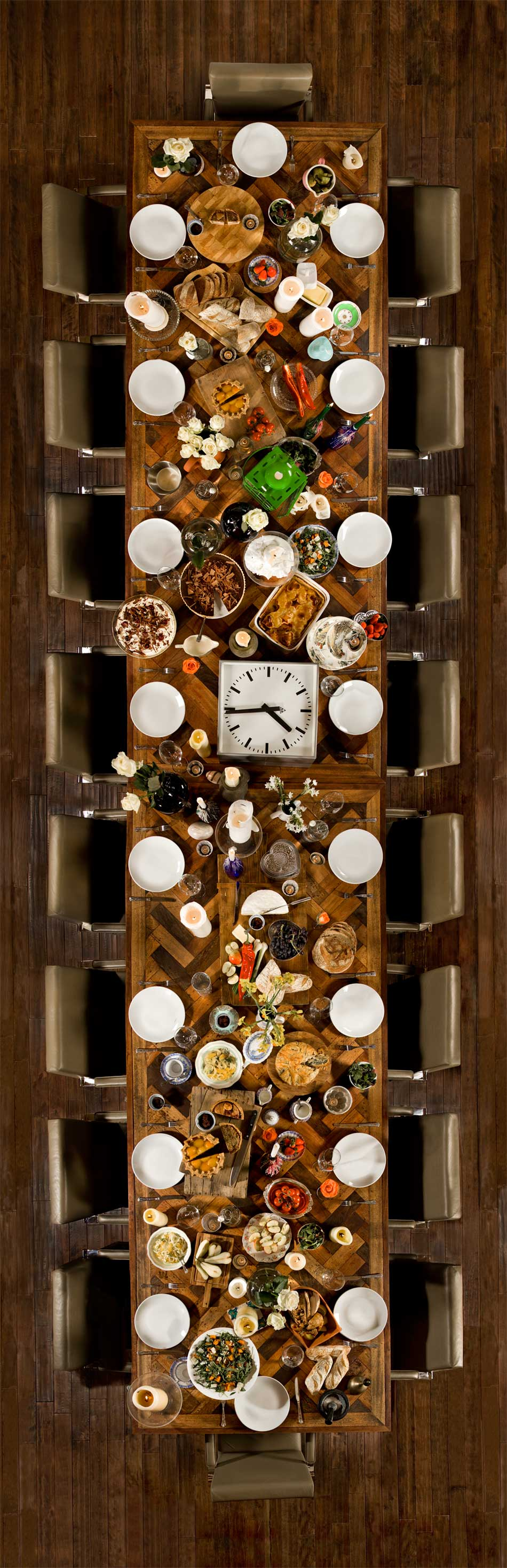 The Chimney House & Coco Catering's feasting style 家具