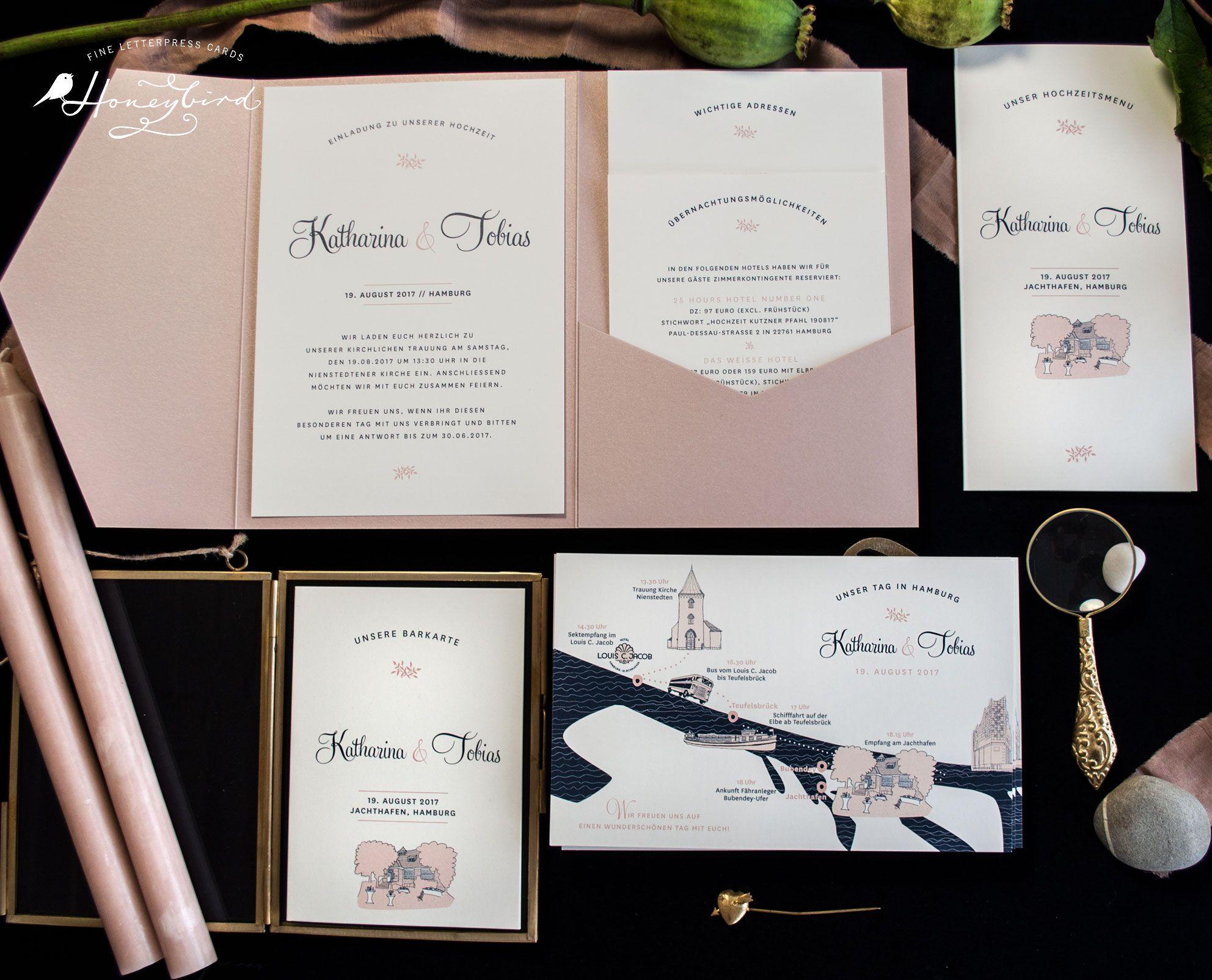 Mulberry Variation Im Pocketfold Honeyblog Hochzeit Pinterest