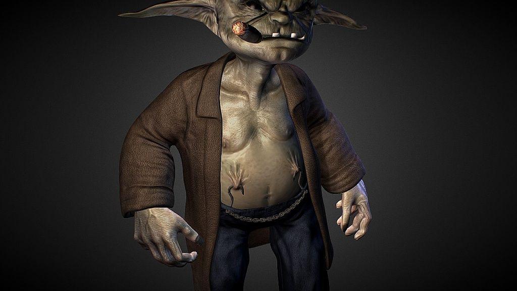 Fish Hook the Goblin by ragdollanimation