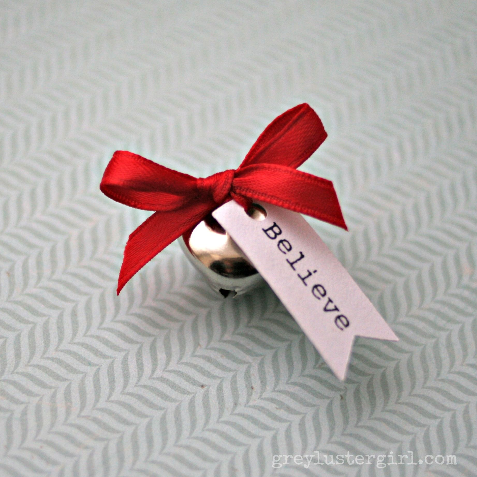 The first t of Christmas Make your own bell from Santa s sleigh