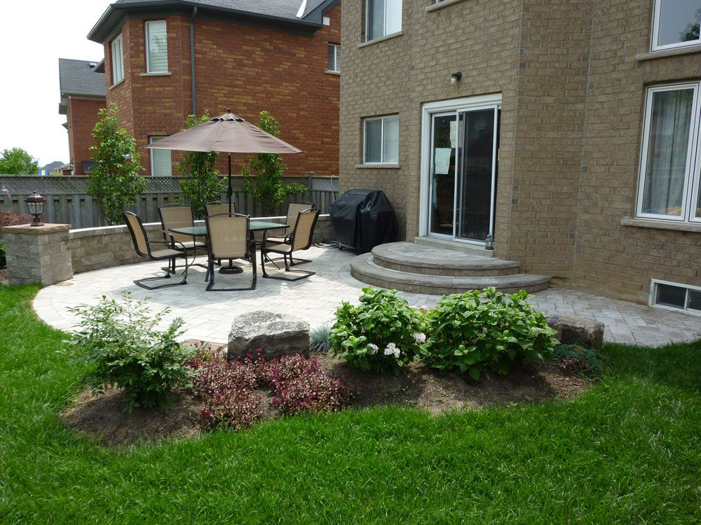 Brick Patio Ideas For Small Backyards | patio backyard ...