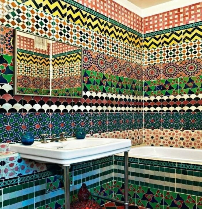 Ways To Fix Loose Bathroom Tiles Colorful Bathroom Tile Bathroom Tile Designs Tile Bathroom