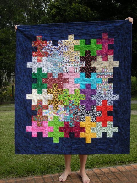 Jigsaw Quilt Tutorial More