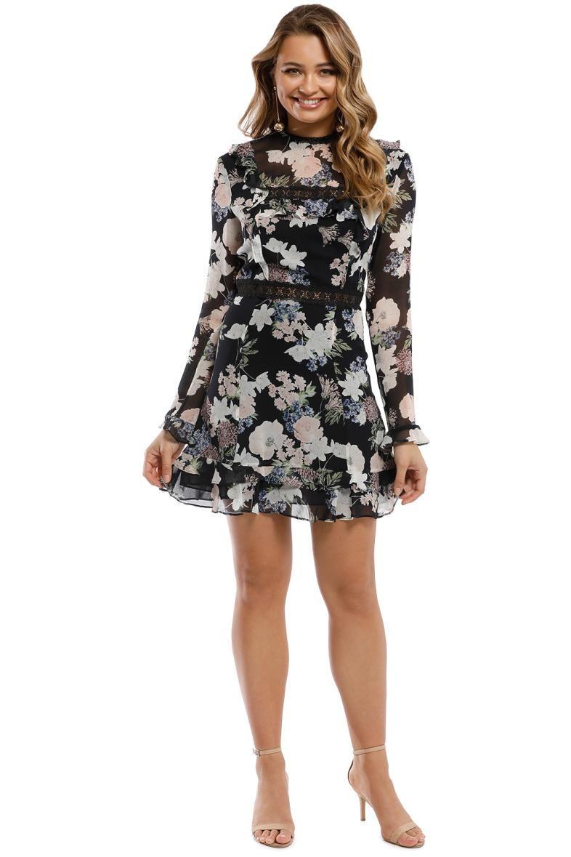 Nicholas Thistle Fl Mini Dress Multi Front