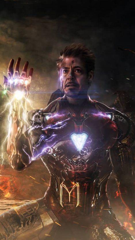 Iron Man Snap iPhone Hintergrundbild  #Hintergrundbild #iPhone #Iron #Man #Snap