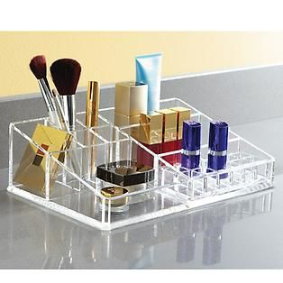 The Container Store U003e Large Acrylic Makeup Organizer