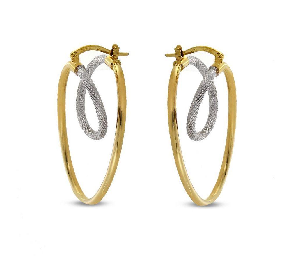 États Unis livraison gratuite design élégant Boucles d'oreilles 2 ors 9 carats | Bijoux | Boucle d ...