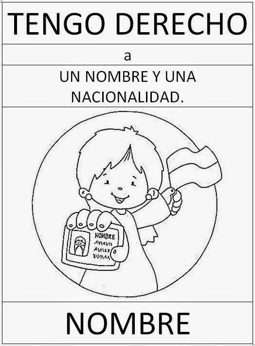Resultado De Imagen Para Como Dibujar Imagenes Referidas Al Derecho A La Identidad Derechos De Los Ninos Imagenes De Los Derechos Derechos De La Ninez