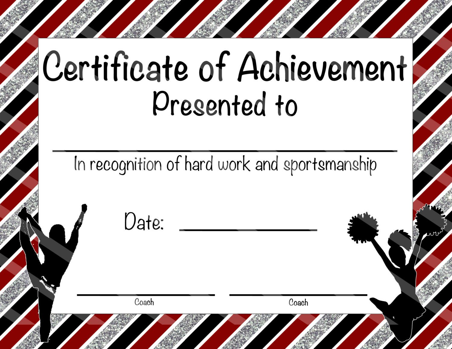 Cheerleading certificate cheerleading by nanaspartyprintables cheerleading certificate cheerleading award cheerleading diy cheerleading printable cheerleading achievement end of season award yelopaper Image collections