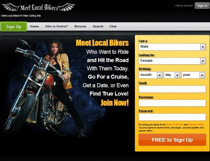 Bikers dating site.org Tips voor dating een med student