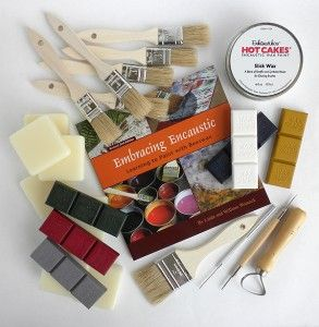 encaustic how to and videos