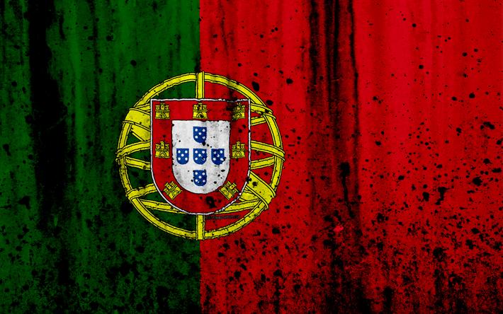 Download Wallpapers Portuguese Flag 4k Grunge Flag Of Portugal