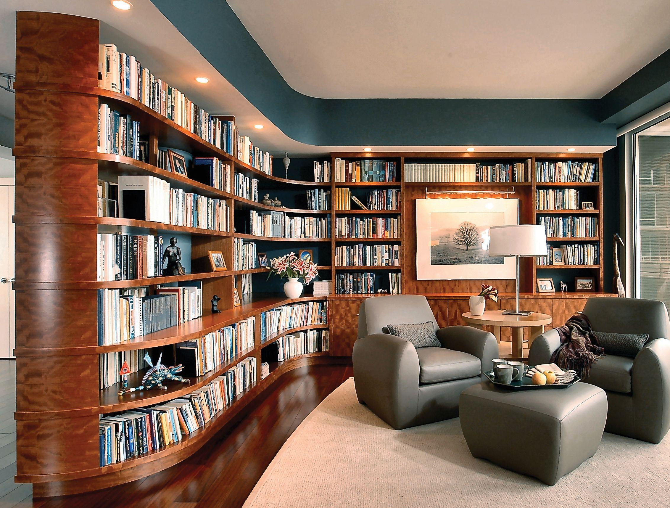Bookshelves Library Home Library Decor Home Library Design Cozy Home Library