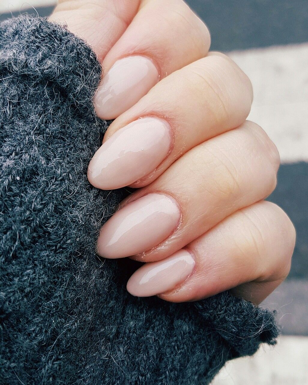 Neutral Almond Acrylic Nails Natural Acrylic Nails Almond Acrylic Nails Acrylic Nails Almond Short