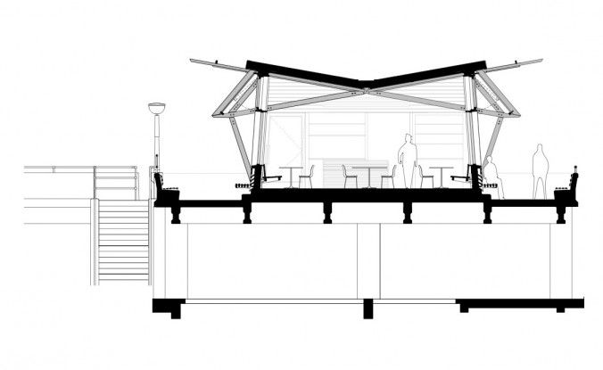Deal Pier Kent Master Room Design Construction Details Architecture Architectural Section