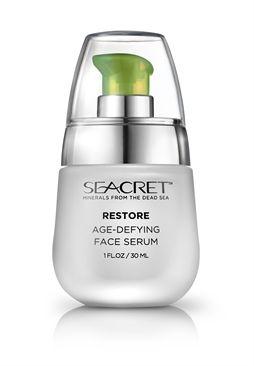 Seacret facial serum