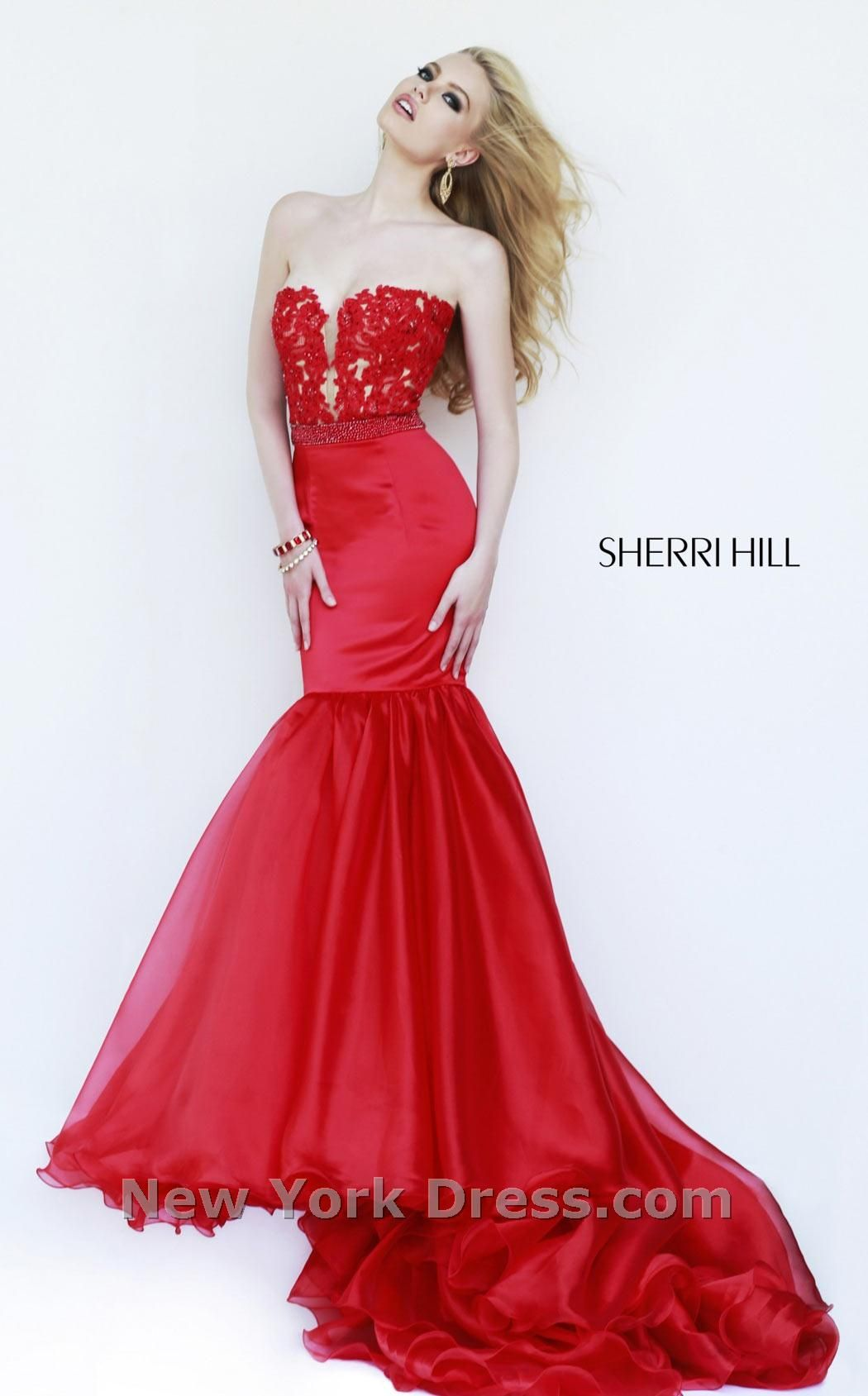 Prom Dresses, Celebrity Dresses, Sexy Evening Gowns: Strapless Mermaid Gown  32107 by Sherri Hill