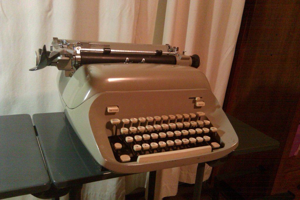 Royal Empress typewriter, 1965