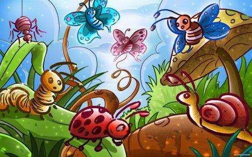 Free Holiday - Child, Happy, Cartoon, Wild Animal Paradise, World, Paradise, Bunny, Animal, Easter, Holiday