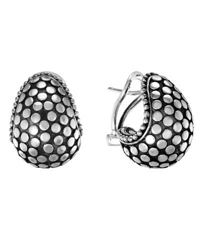 Buddha Belly Hoop Earrings From John Hardy At Neiman Marcus Last Call Where You Ll Save As Much On Designer Fashions