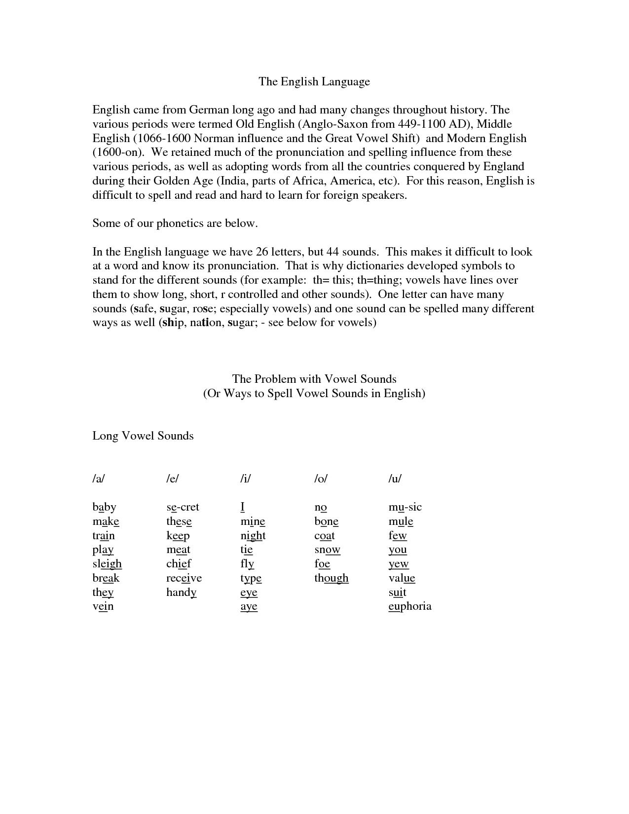 Worksheets On Homographs