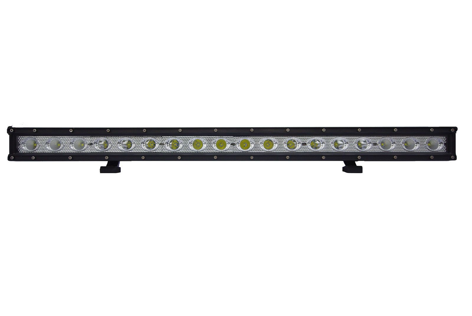 Single Row 90 Watt 8100 Lumen Led Light Bar Led Light Bars Bar Lighting Automotive Led Lights