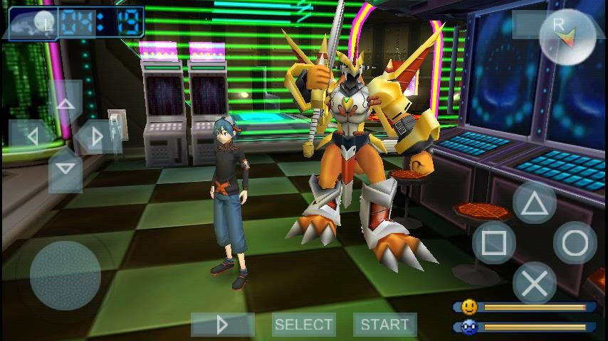 PPSSPP Gold Apk Game | PPSSPP Gold Games | Digimon adventure