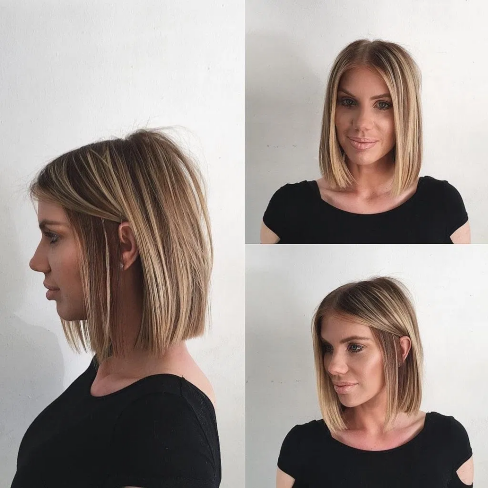 40 Beste Frisuren Mittellang 2019 Mit Schulterlange In 2020 Schulterlange Haare Glatt Mittellange Haare Frisuren Einfach Niedliche Frisuren