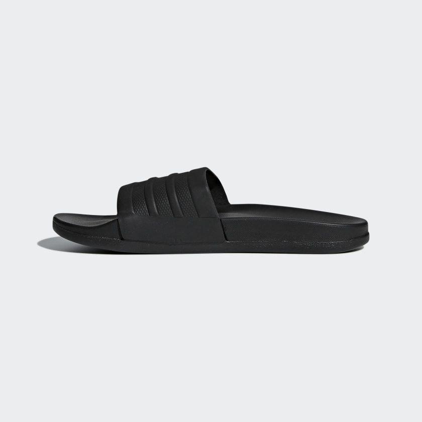 adidas Adilette Comfort Slides - Black | adidas US | Womens ...