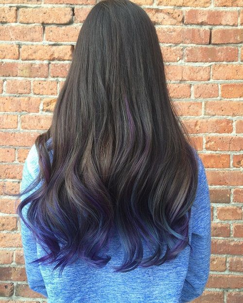 40 Fairy Like Blue Ombre Hairstyles With Images Hair Dye Tips