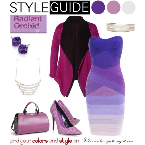 00be949f38fa Radiant Orchid for Cool Summer by thirtysomethingurbangirl on Polyvore