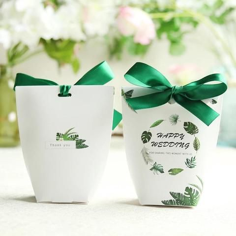 Outfit Accessories | New pink/white/green/red/blue Cherry blossoms, Flamingos, marble, unicorn Wedding Favors Candy Box baby shower Party Gift Box | | Touchy Style | 2 | Touchy Style