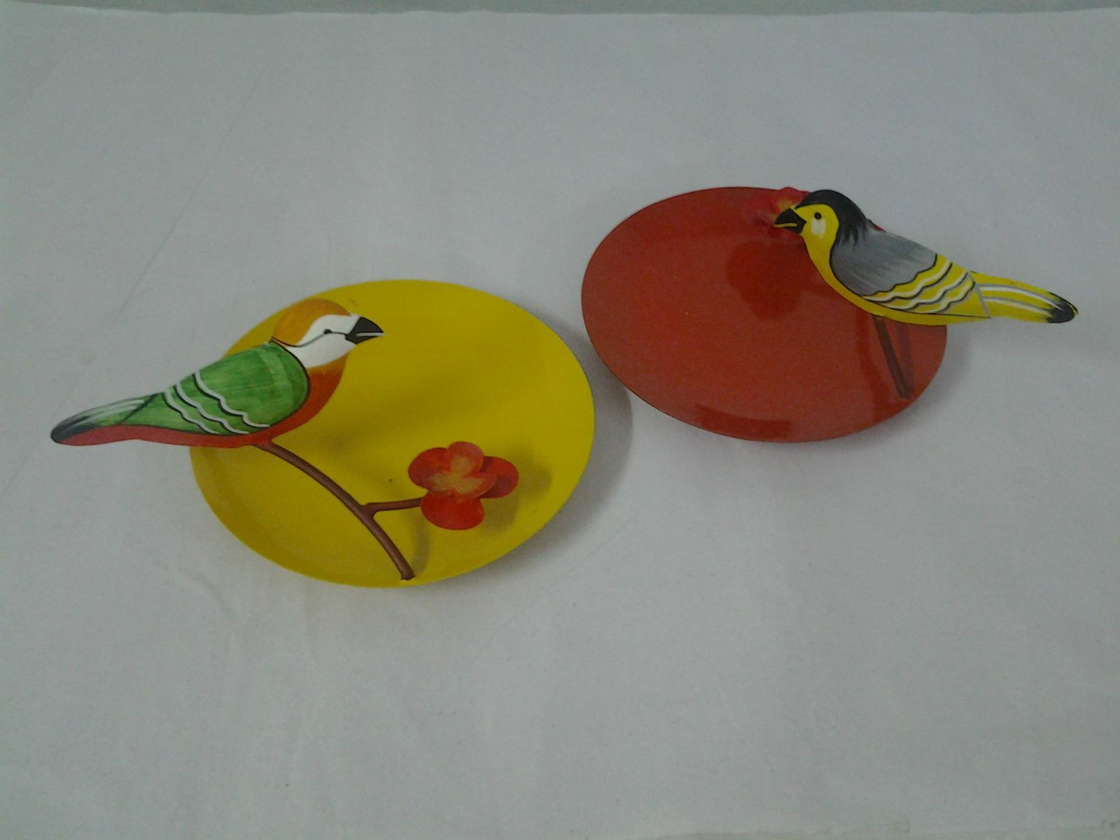 Bird on a twig gift plate