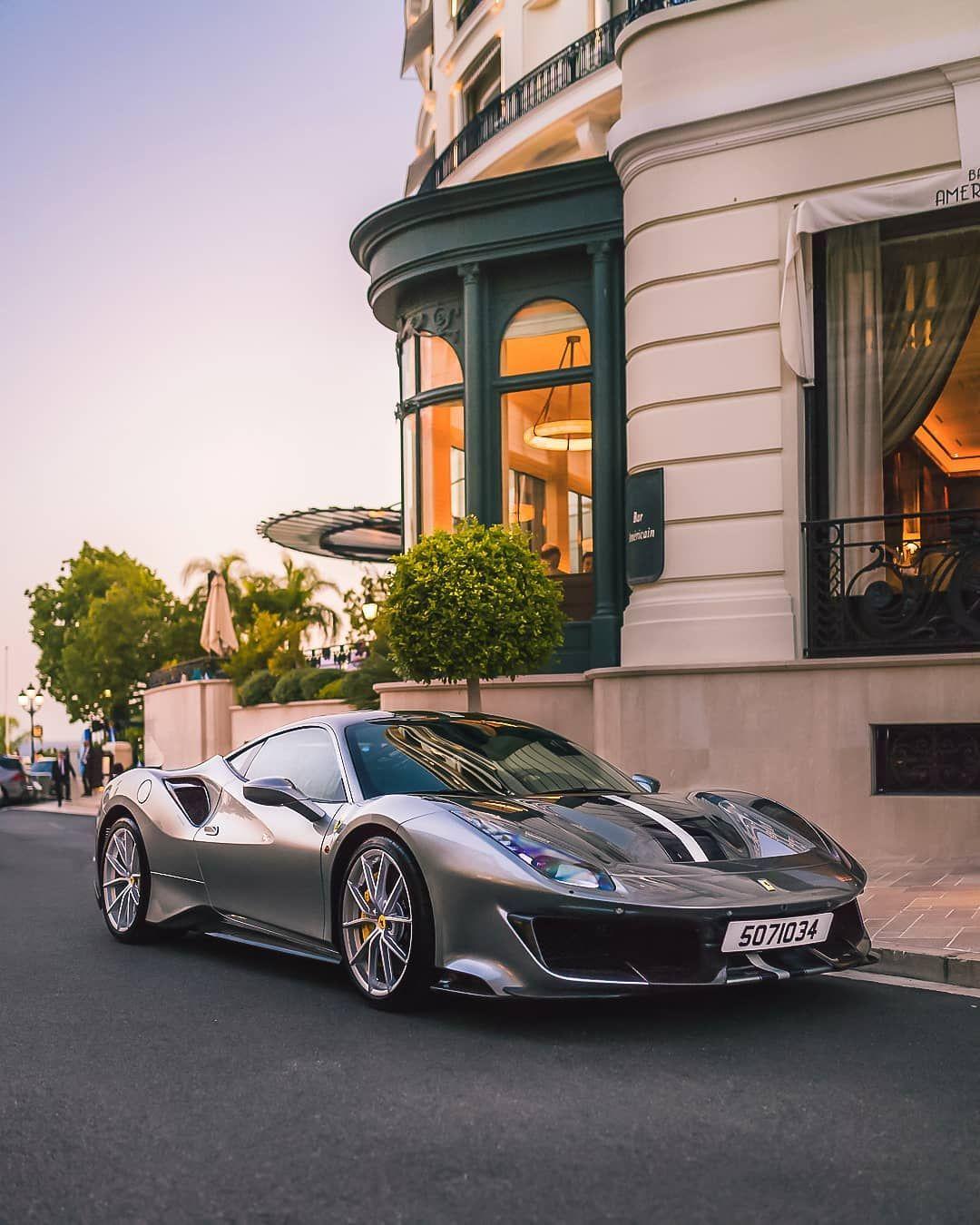 Monaco Monako On Instagram Italian Car At The American Bar Pista With Images Car Italian Cars Ferrari