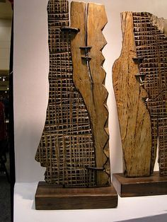 wood sculpture by george peterson by OKlosangeles, via Flickr