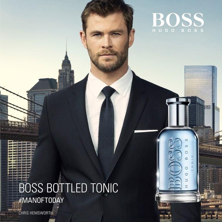Poster Of Chris For Boss Bottled Tonic Manoftoday Boss Bottled