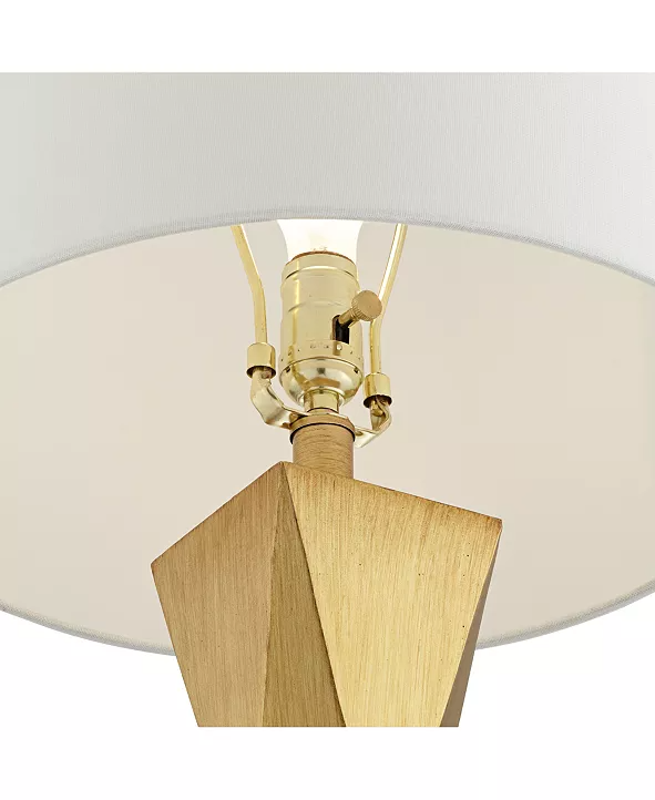 Pacific Coast Quadrangle Brushed Gold Table Lamp Set Of 2 Reviews Home Macy S Table Lamp Sets Lamp Sets Gold Table Lamp