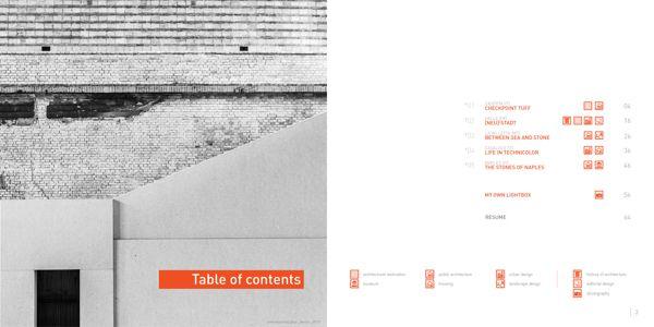 Architecture Portfolio - 2010 | 2013 by Federico Cosimo Biancullo, via Behance