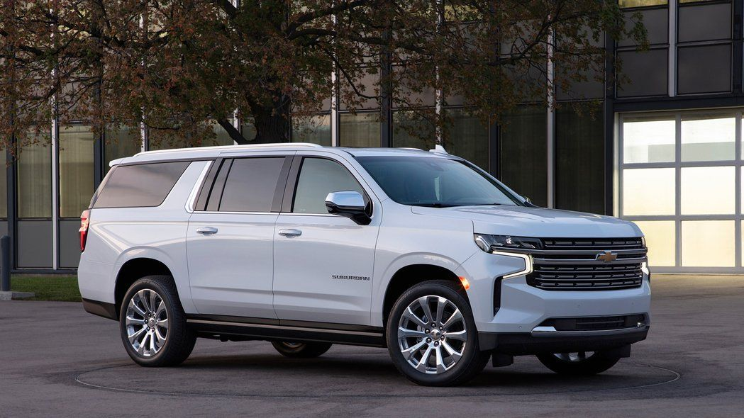 First Look 2021 Chevrolet Suburban And Tahoe Full Size Suvs