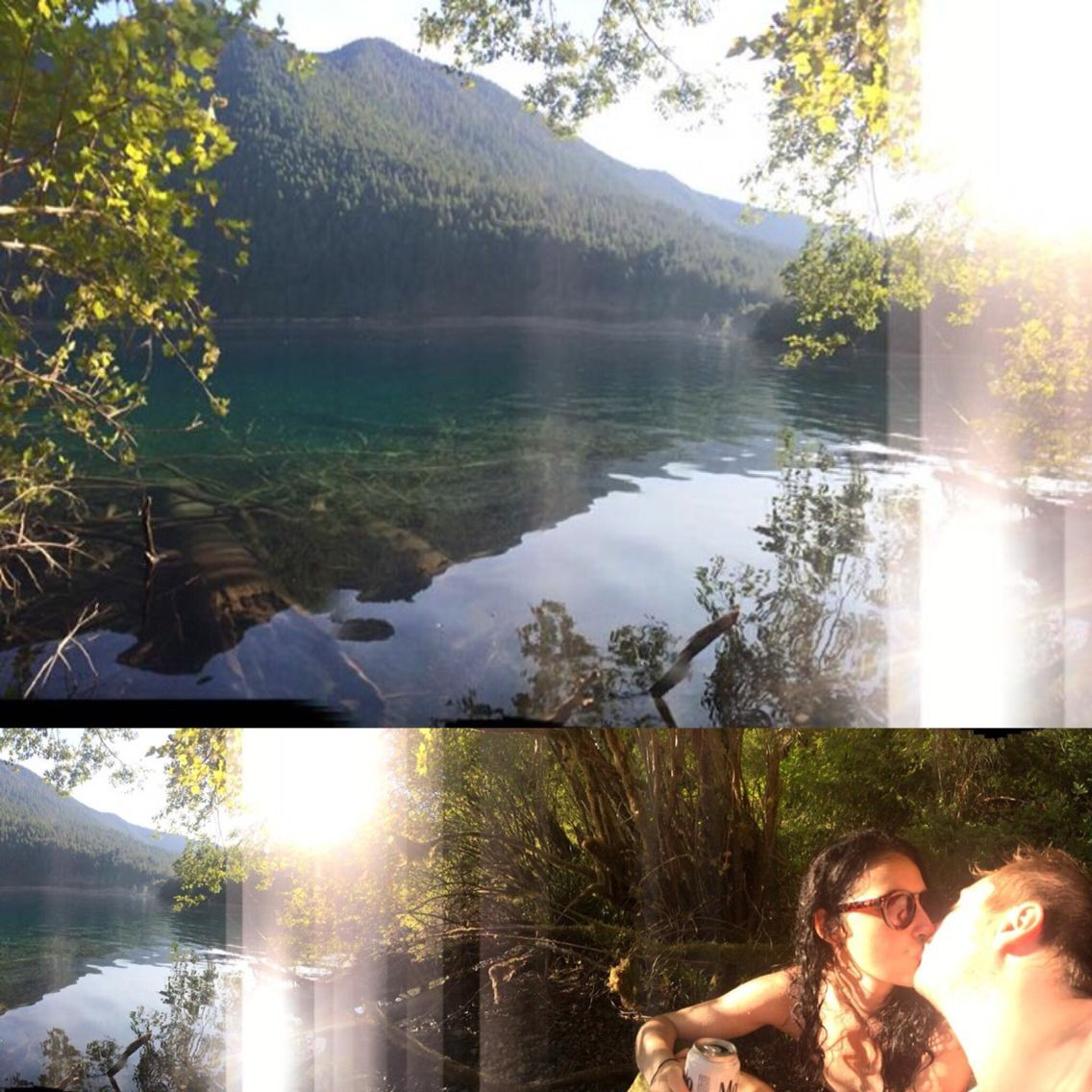 Lake Crescent, WA  Olympic National Forest
