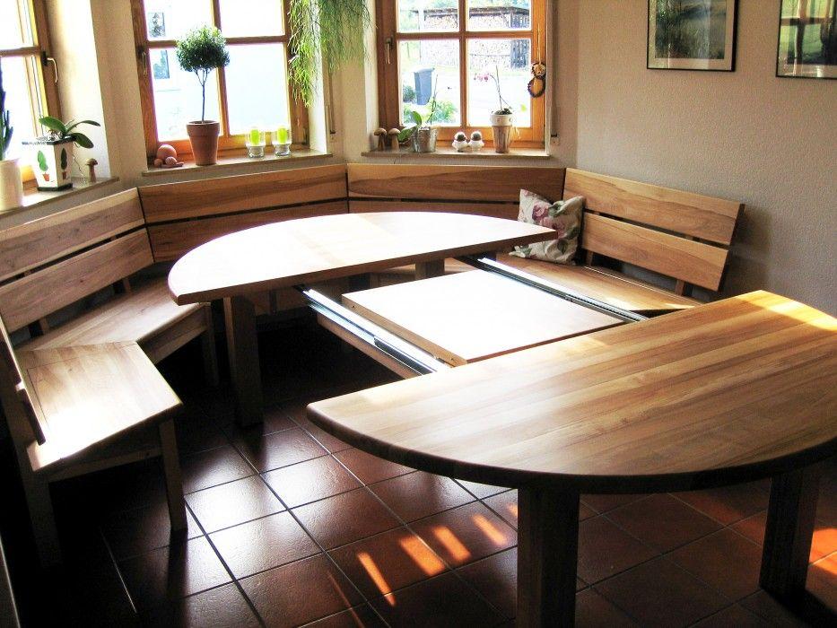 erker mit ausziehtisch einrichtung pinterest. Black Bedroom Furniture Sets. Home Design Ideas