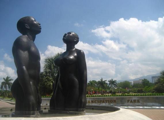 Emancipation Park Kingston Jamaica This Is One Of The Most